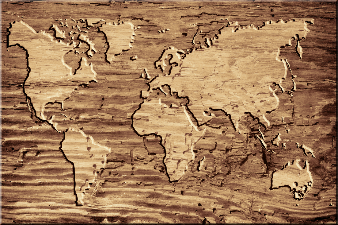 weltkarte aus holz world map weltkarte peta dunia mapa del mundo earth map. Black Bedroom Furniture Sets. Home Design Ideas